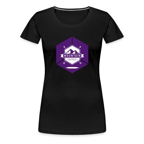 Mountain Dudes - Frauen Premium T-Shirt