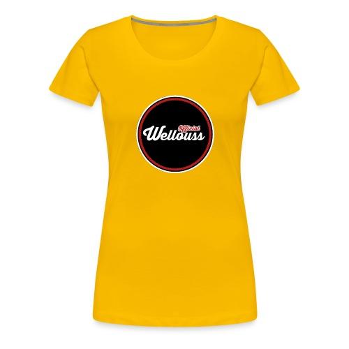 Wellouss Fan T-shirt   Rood - Vrouwen Premium T-shirt