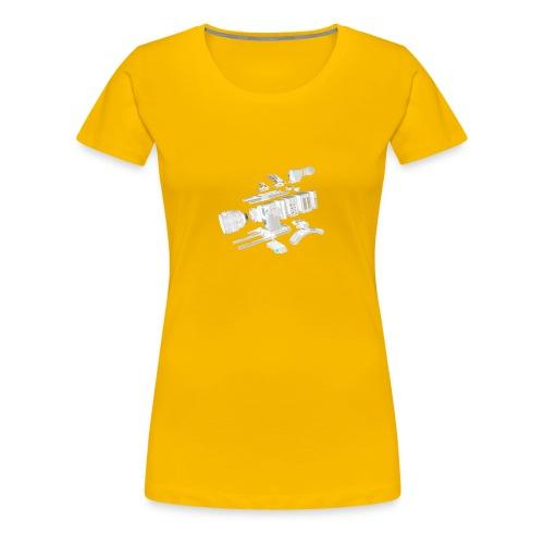 VivoDigitale t-shirt - RED - Maglietta Premium da donna