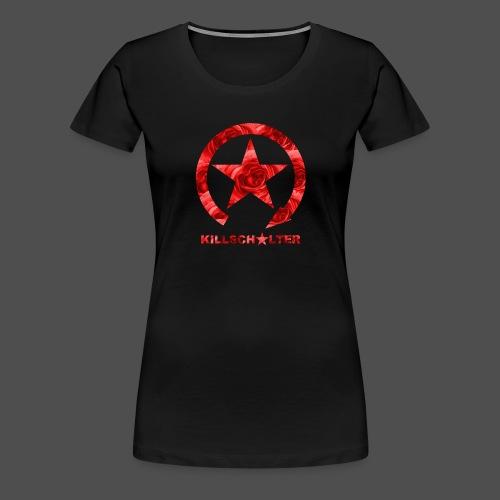 KILLSCHALTER Logo Roses - Koszulka damska Premium
