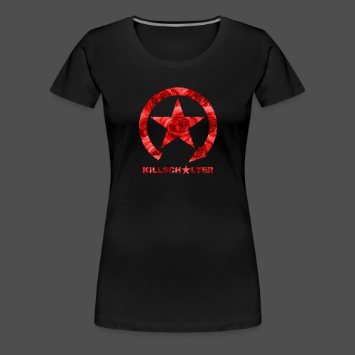 KILLSCHALTER Logo Roses - Women's Premium T-Shirt