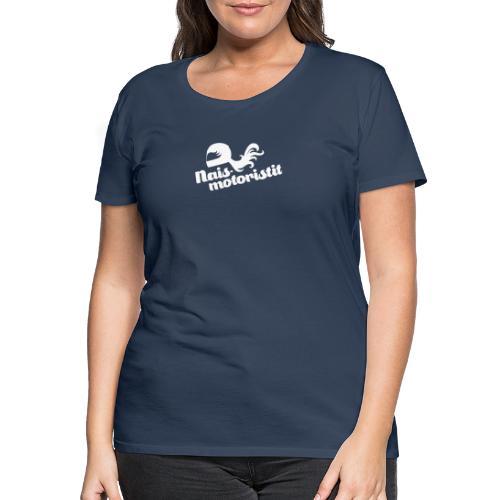 Facebook Naismotoristit - Naisten premium t-paita