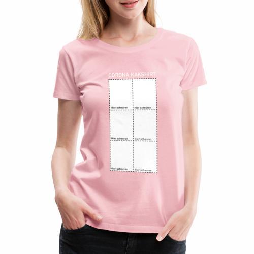 Corona kakshirt - Vrouwen Premium T-shirt