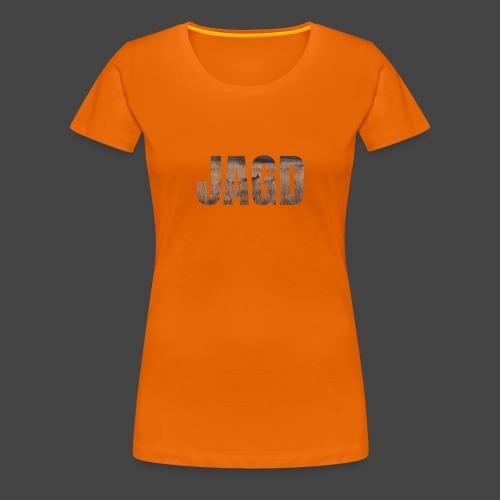 JAGD-Shirt für Jäger/innen, Motiv Moorjagd - Frauen Premium T-Shirt