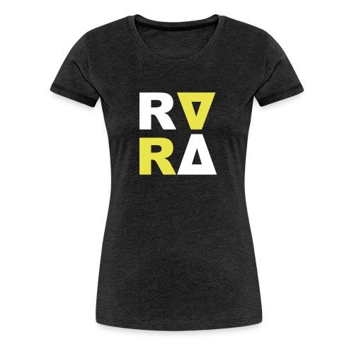 rira logo2 schwarz - Frauen Premium T-Shirt