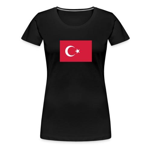 Turkey - Vrouwen Premium T-shirt