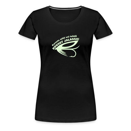 fly2 paita - Naisten premium t-paita