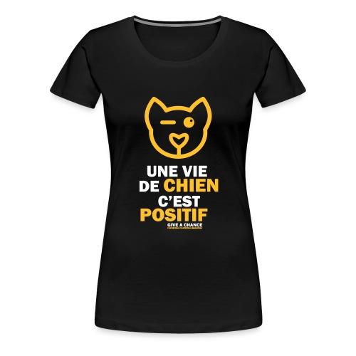 Positif - T-shirt Premium Femme