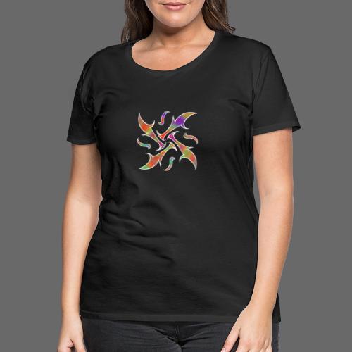 Hypnotisches Tribal - Frauen Premium T-Shirt