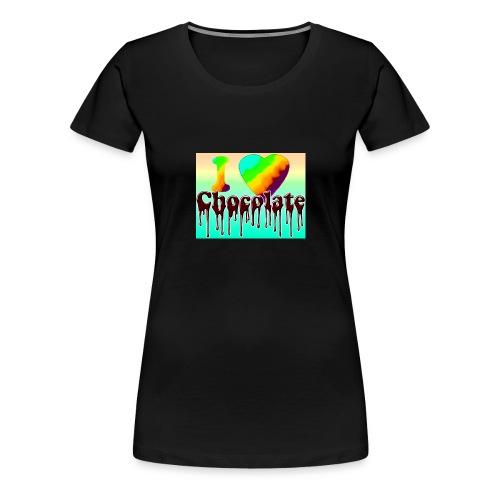 ILOVCHOCO2 copie - T-shirt Premium Femme