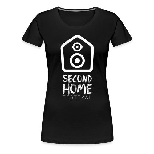 Logo 2018 white - Frauen Premium T-Shirt