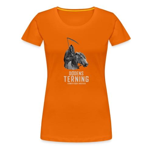 Dødens terning sh - Dame premium T-shirt