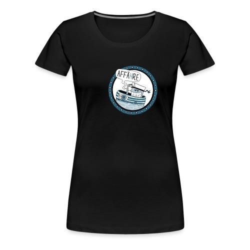 Affähre - Frauen Premium T-Shirt