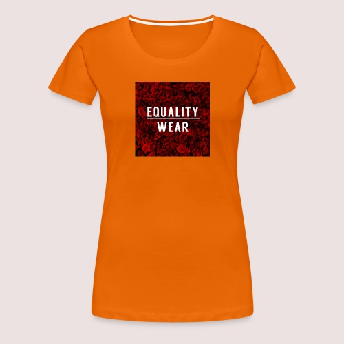Equality Wear Rose Print Edition - Women's Premium T-Shirt