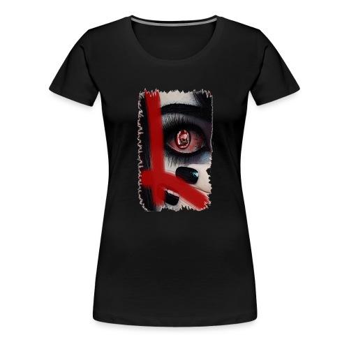 Polka Trash Tattoo Design - Frauen Premium T-Shirt
