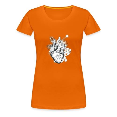 Cuore - Camiseta premium mujer