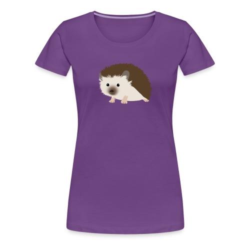 Siili - Naisten premium t-paita
