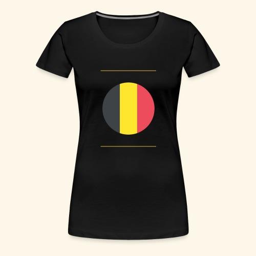 Belge - T-shirt Premium Femme