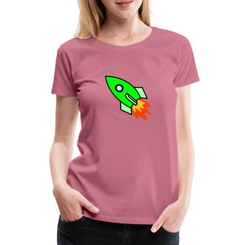 neon green - Women's Premium T-Shirt