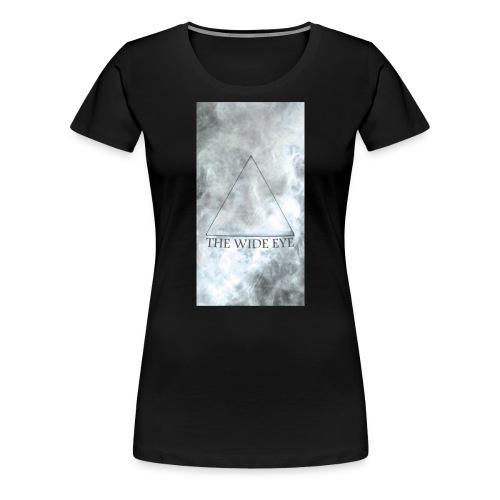 THE WIDE EYE Motiv A - Premium-T-shirt dam