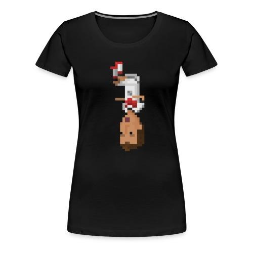 German Front Flip - Women's Premium T-Shirt