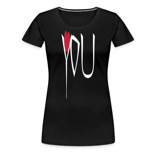 love you - Frauen Premium T-Shirt