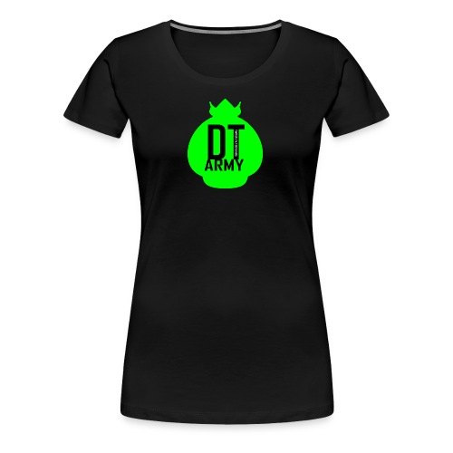 DT ARMY GREEN - Frauen Premium T-Shirt