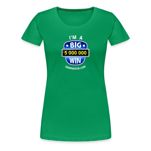 Big Win - Women's Premium T-Shirt