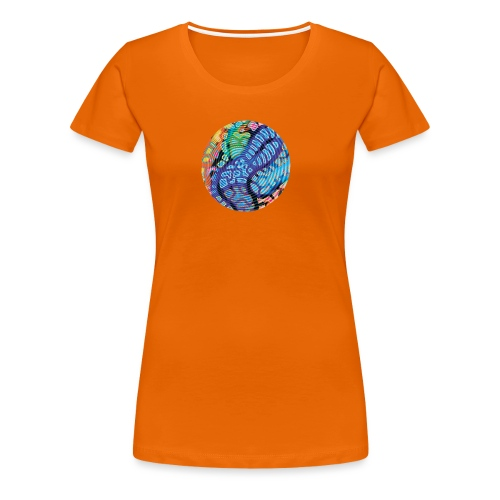concentric - Women's Premium T-Shirt