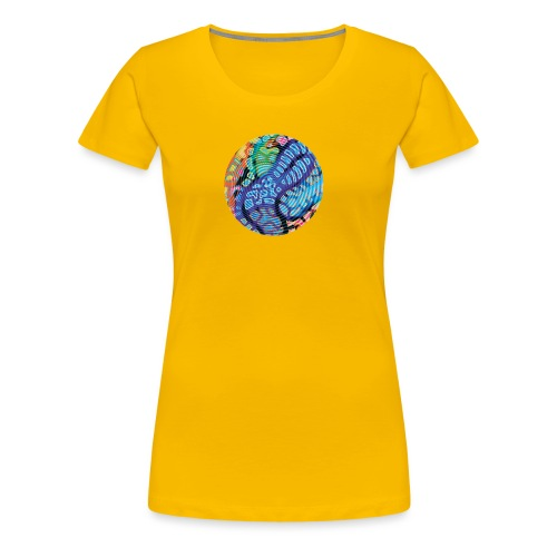 concentric - Women's Premium T-Shirt