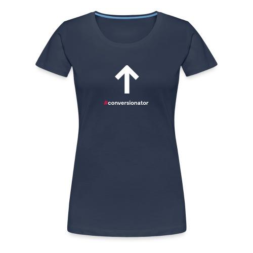 Conversionator mit Pfeil ohne Kreis - Frauen Premium T-Shirt