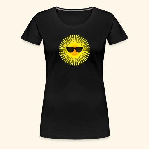 Sol de Canarias - Camiseta premium mujer
