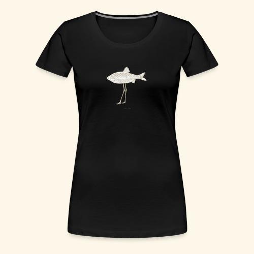 Fence pesce illustrazione - Maglietta Premium da donna