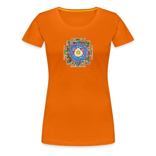 buddhist mandala - Women's Premium T-Shirt