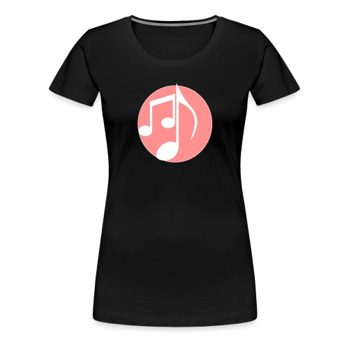 music note: MIGI WEAR - Vrouwen Premium T-shirt