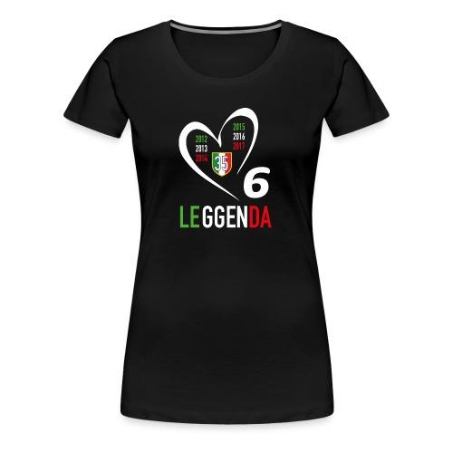 LE6GENDA - Maglietta Premium da donna