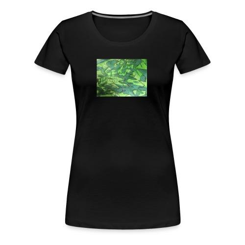 Millitær - Premium T-skjorte for kvinner