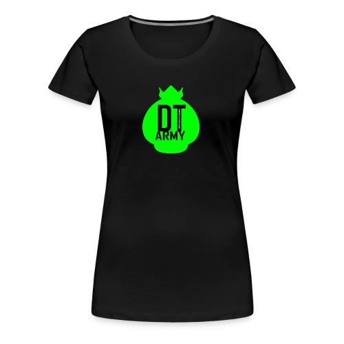 DT ARMY GREEN - Frauen Premium T-Shirt
