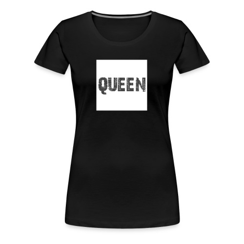 queen shirt - Vrouwen Premium T-shirt
