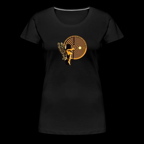 close your eyes - Women's Premium T-Shirt