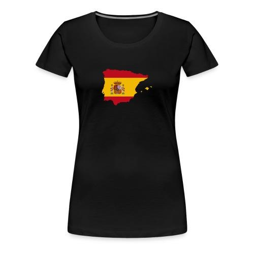 Spanish Flag - Camiseta premium mujer