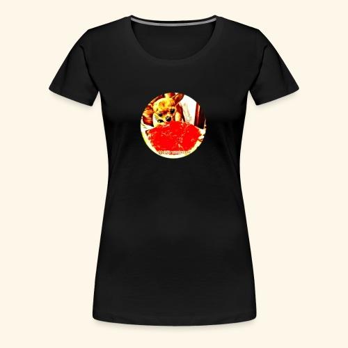 I Chihuahua amano il cocomero... e anche Zoe! - Maglietta Premium da donna