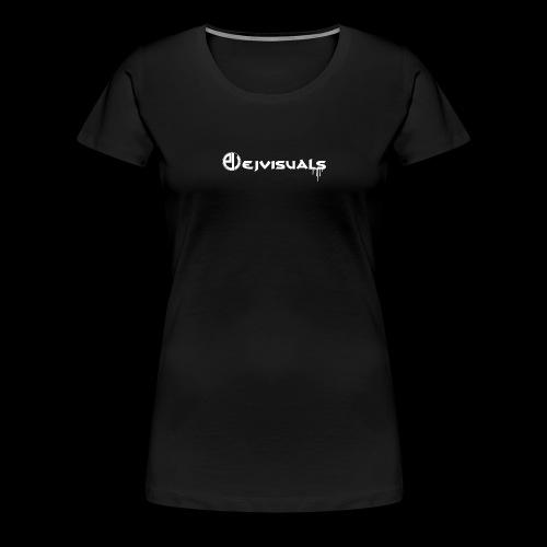- EJVisuals Logo - Vrouwen Premium T-shirt