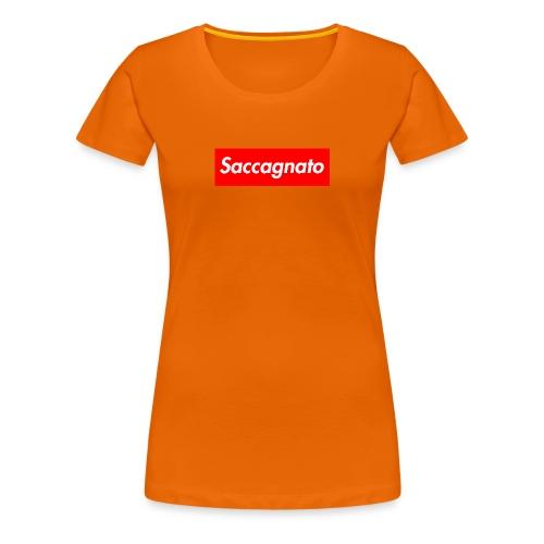 Saccagnato - Maglietta Premium da donna