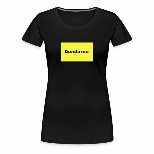 yellow & black dundaree gear - Women's Premium T-Shirt