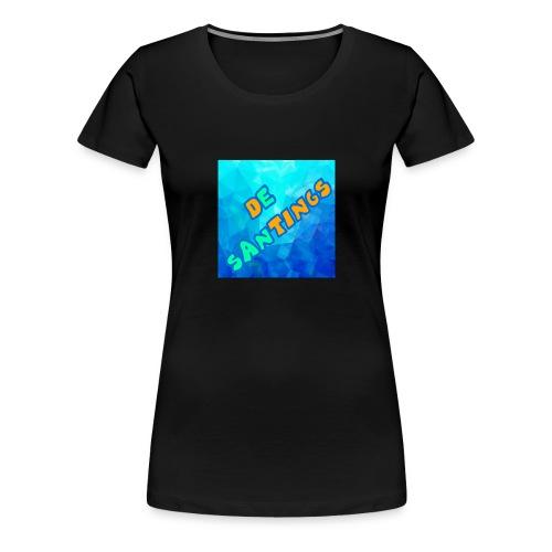 De Santings Logo - Vrouwen Premium T-shirt