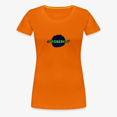 AfroSerkut LOGO - Naisten premium t-paita