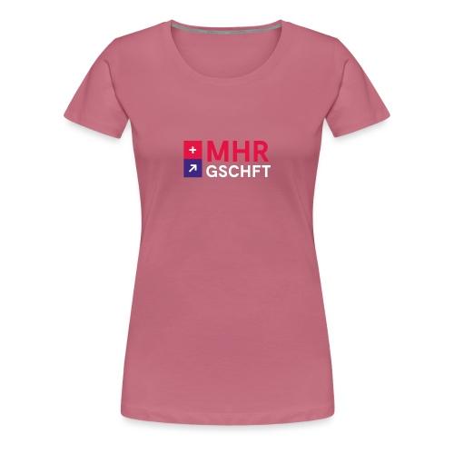 MHR GSCHFT mit Logo - Frauen Premium T-Shirt