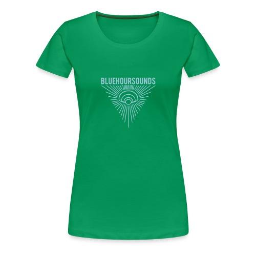 New Blue Hour Sounds logo triangle - Women's Premium T-Shirt