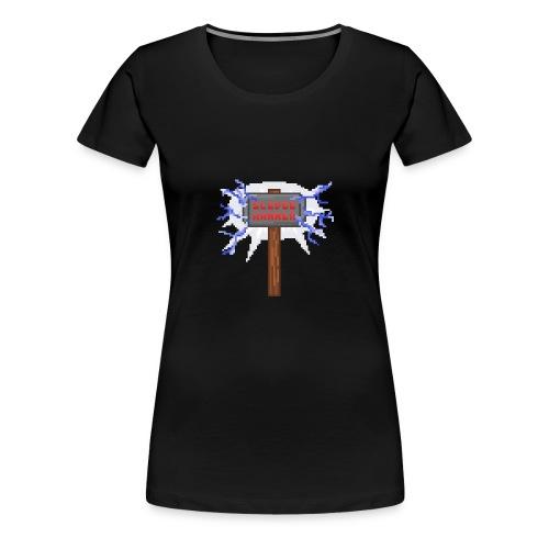 Sledge hammer Pixel - Premium-T-shirt dam